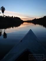 Kayaking the river in San Ignacio