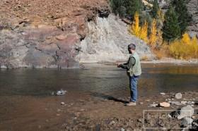 Matt fishing