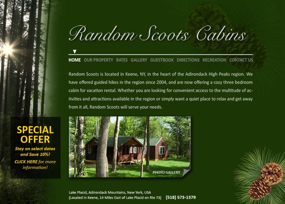 Web home page design