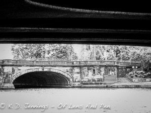 Under A Bridge In Hamburg