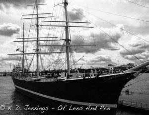 Rickmer Rickmers Ship Hamburg