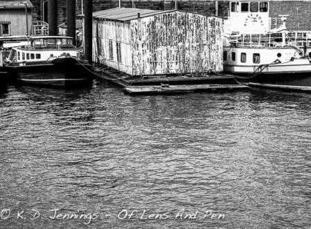 Old Boathouse Harbour Hamburg
