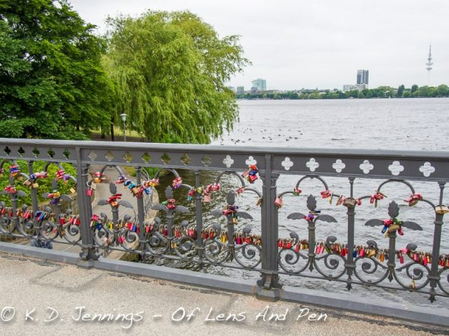 Hamburg In Colour Series - Love Padlocks