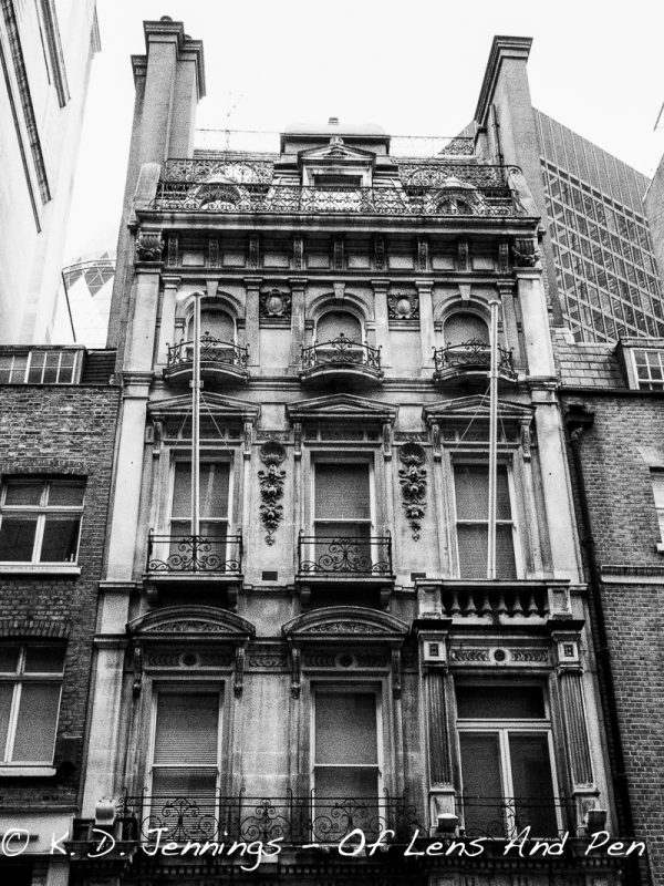 Old Building Surrounded By Modern Ones - The City - London