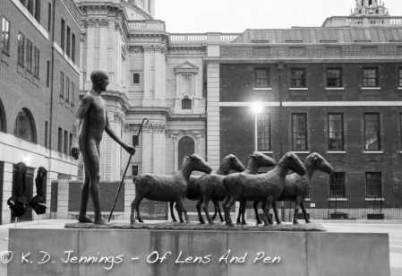 The Shepherd - Statue - London