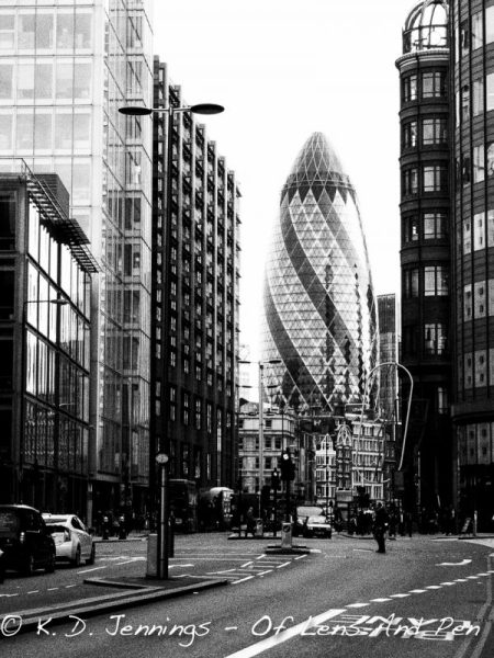 The Gurkin - The City - London