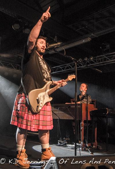 King King   Reaching For The Light Tour 2017 - Alan Nimmo - Bob Fridzema