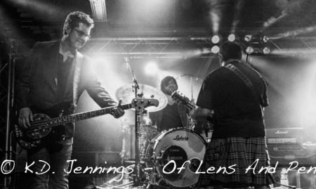King King   Reaching For The Light Tour 2017 - Alan Nimmo - Wayne Proctor - Lindsay Coulson