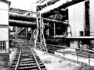 Voelklinger Huette - Voelklingen Ironworks - Saarbruecken - Saarland - Germany