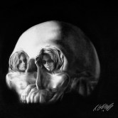 Tom French Skull Love Painting Knuckle Dragger  magazine (2)