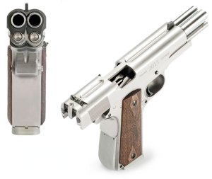 Arsenal Double-Barrel-1911- Knuckle Dragger Magazine