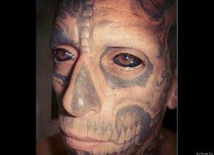 Rodrigo Fernando Dos Santos Tattooed Eye Ball Knuckle Dragger Magazine