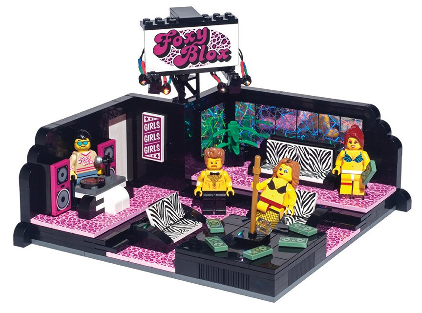 Ruin Your Kid's Innocence with the LEGO Strip Club