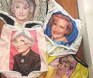 "For The Win. ""Golden Girls"" Panties For Your Lover."