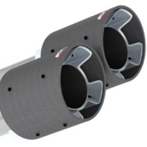 Borla Kia Stinger 2.0L/3.3L Carbon Fiber Exhaust Tip Kit