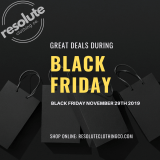 Back Friday Sale 2019 | resoluteclothingco.com