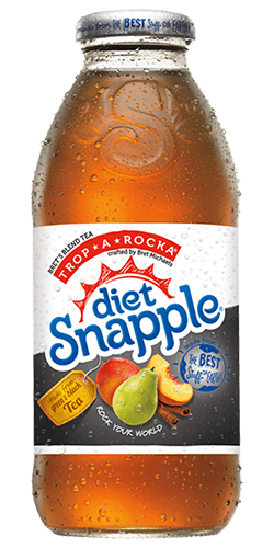 Snapple Diet Peach Tea Iced Tea Singles To-Go - 6 Packets