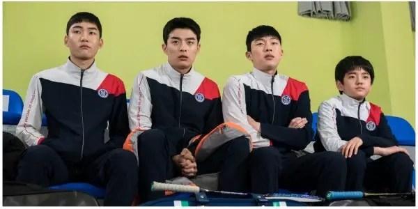 """Racket Boys"""" Introduces Tang Jun Sang, Son Sang Yeon, Choi Hyun Wook & Kim  Kang Hoon's Characters - kdramadiary"""