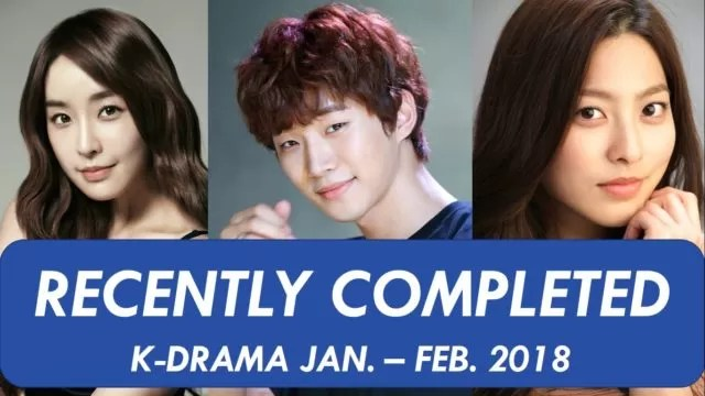 Recently Completed Korean Drama List » KDrama Viewer