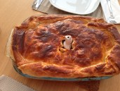 Beef and Mushroom Pie - More Dinner with the Parents