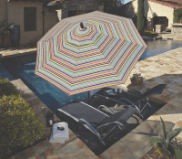 Made in the Shade: Patio Umbrellas by Treasure Garden ...