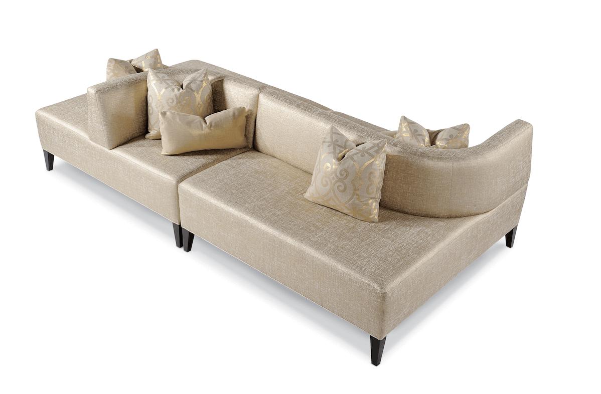 thayer coggin clip sofa kivik cover isunda gray ahead of the curve non linear sofas and sectionals