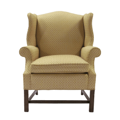 Traditional Wingback Chair Office Cushion Walmart Chippendale Style Kdrshowrooms