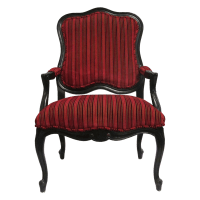 Louis XV Style Fauteuil Arm Chairs (2) - KDRShowrooms.com