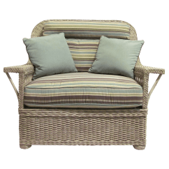 Wicker Chairs With Ottoman Underneath Sofa And Chair Sets Ernest Hemingway Kdrshowrooms