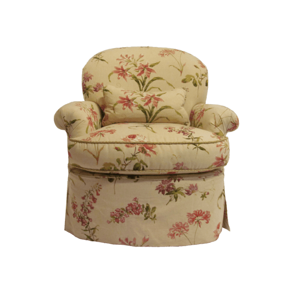 floral arm chair hanging bubble chairs kdrshowrooms com