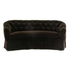 Curved Tufted Sofa Retailers Baci Living Room