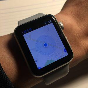 Apple Watch でマップを使う