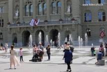 Pintu masuk bangunan Parlimen
