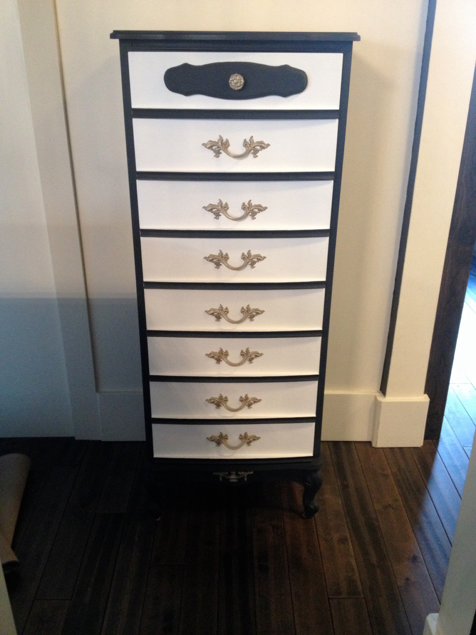 French Provincial Lingerie Chest with Chalk Paint  DIY CRAFT