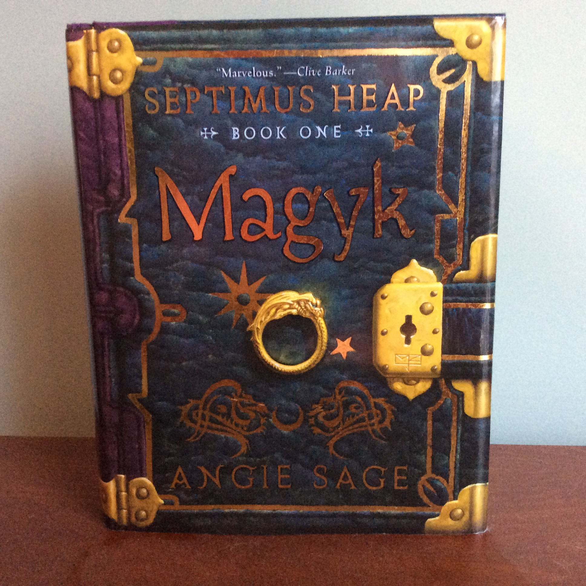 Review of Septimus Heap (Book One): Magyk by Angie Sage