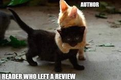 Meme Monday: Readers who leave reviews are my favorite;-)