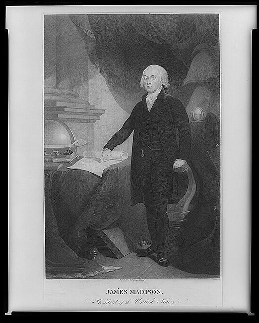 James Madison, the fourth President of the USA