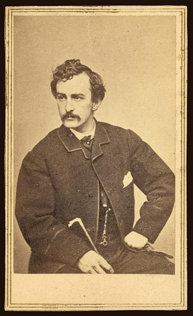 John Wilkes Booth. Assassination of Abraham Lincoln