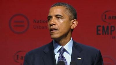 Obama talks gun control, July 26, 2012.
