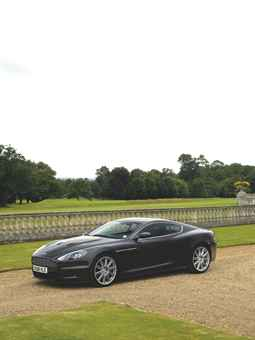 A 2008 Aston Martin 6 Litre V12 DBS 2-Door Coupe used by Daniel Craig as James Bond in Quantum of Solace (Christie's)