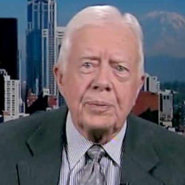 """Jimmy Carter said he """"did his best"""" after losing the Presidential election in 1980, but said his wife Rosalynn """"was pretty bitter."""" (Photo: CNN)"""