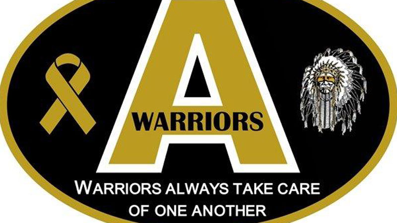 The Arapahoe H.S. bumper stickers will help benefit those in the local community. (Photo: Arapahoe H.S.)