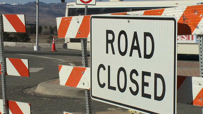 U.S. 36 will be closed overnight in both directions at Sheridan Boulevard until Jan. 25, 2014, said CDOT.
