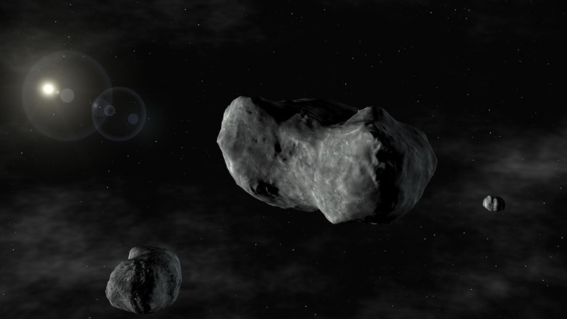 Asteroid Close Call