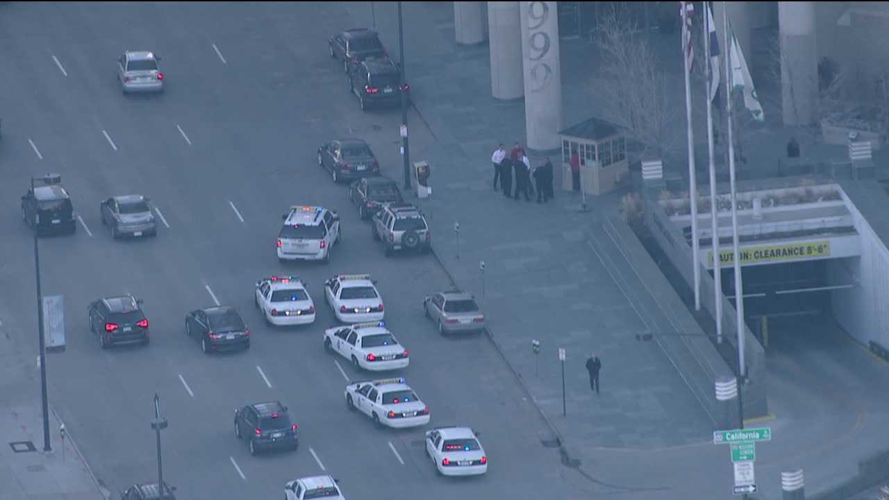 Denver police investigate hit-and-run at 1900 Broadway