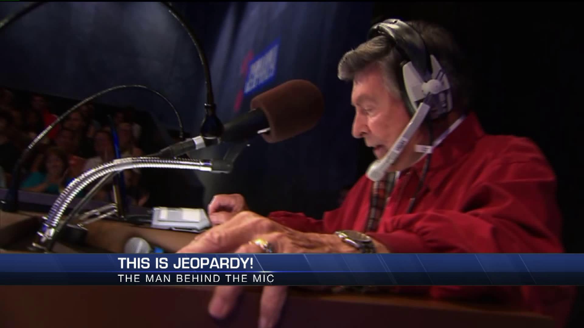 'Jeopardy! announcer Johnny Gilbert