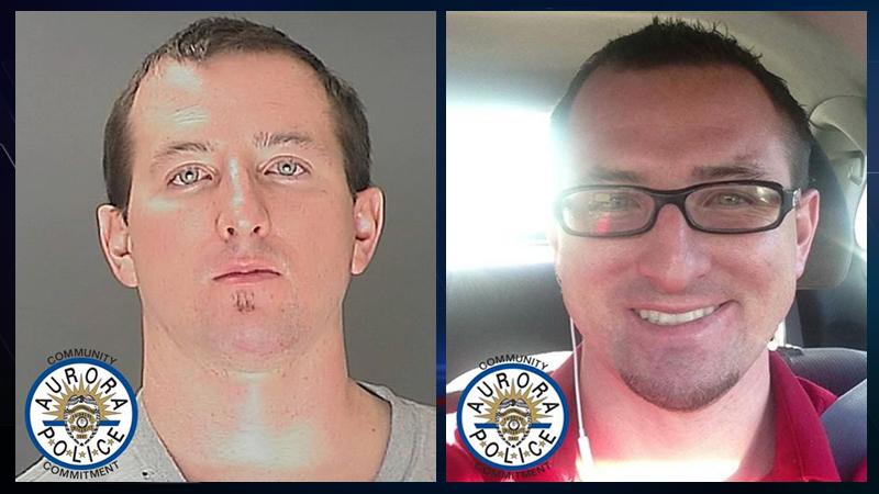 Robert Richard Beattie Smith. Same man pictured twice. Courtesy: Aurora police
