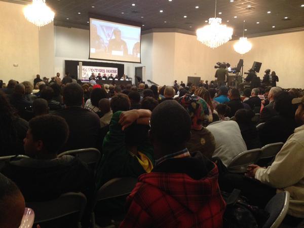Hundreds meet with law enforcement leaders in Denver