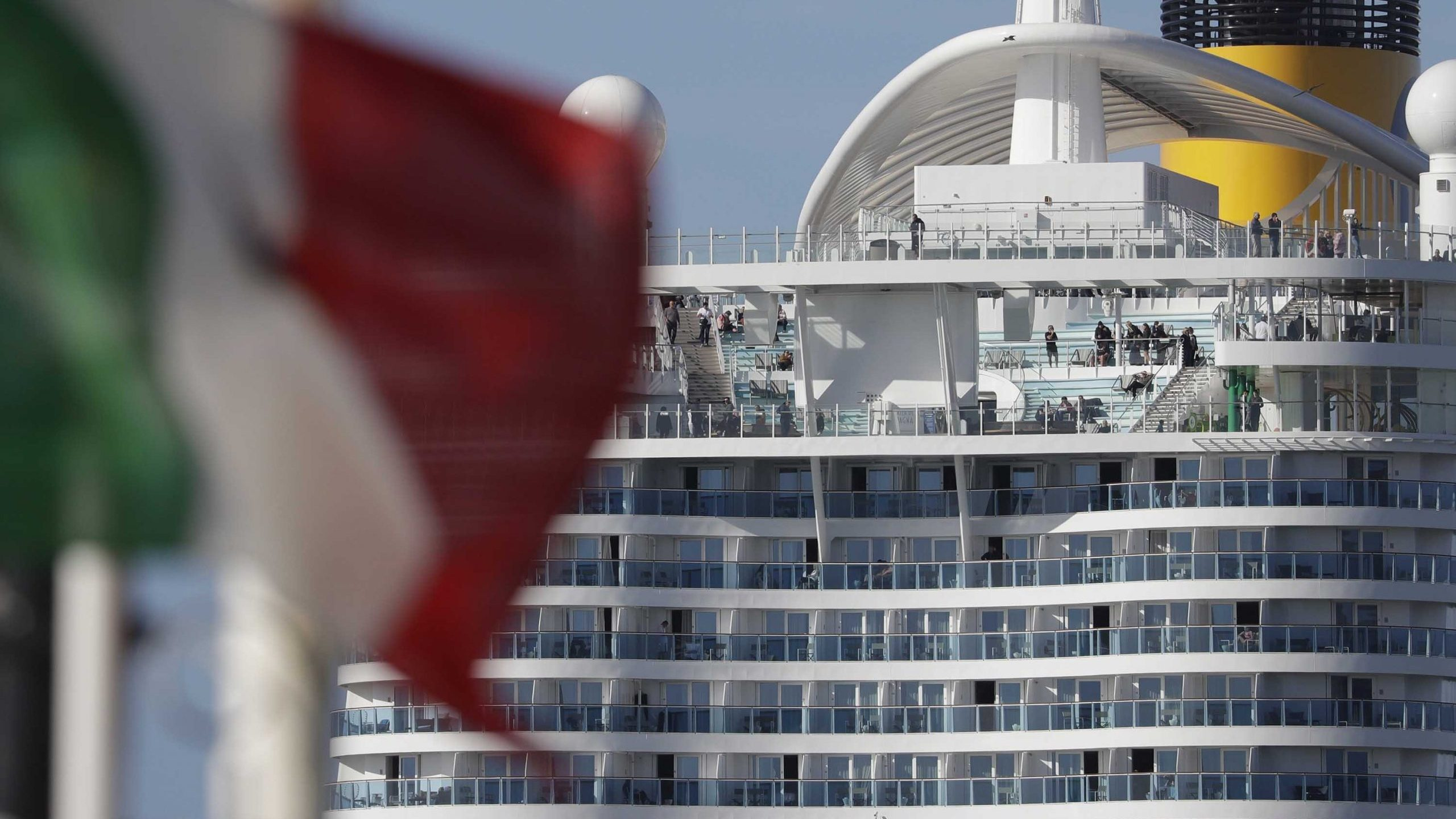7,000 people held on cruise ship in Italy as Wuhan coronavirus ...