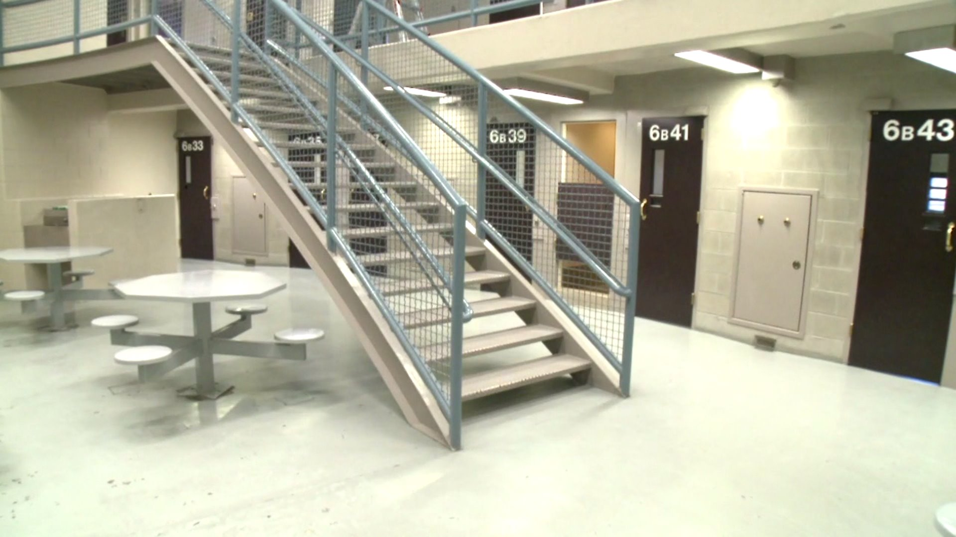 Inside the Jefferson County Detention Center in Golden, Colo.
